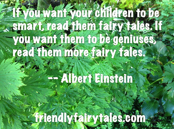 read fairy tales albert einstein