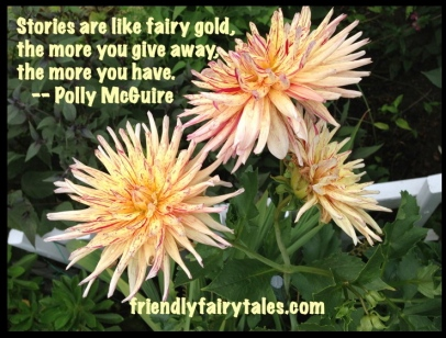 stories like fairy gold, more give more have