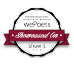 We Poets Show it Badge
