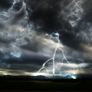 Lightning on a Dark Night