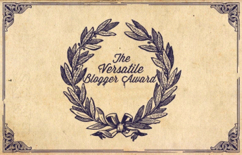 versatile blogger award