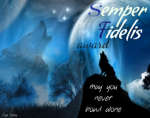 semper fidelis wolf award howl