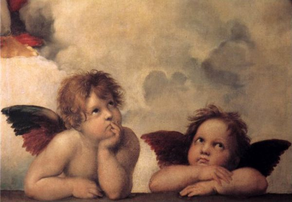 Cherubs by Michelangelo, Courtesy of Samui Art
