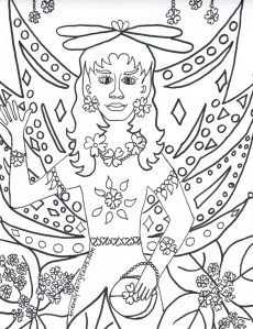 Click for Free Coloring Page of Silka the Fairy