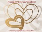 Love and Kindness Award