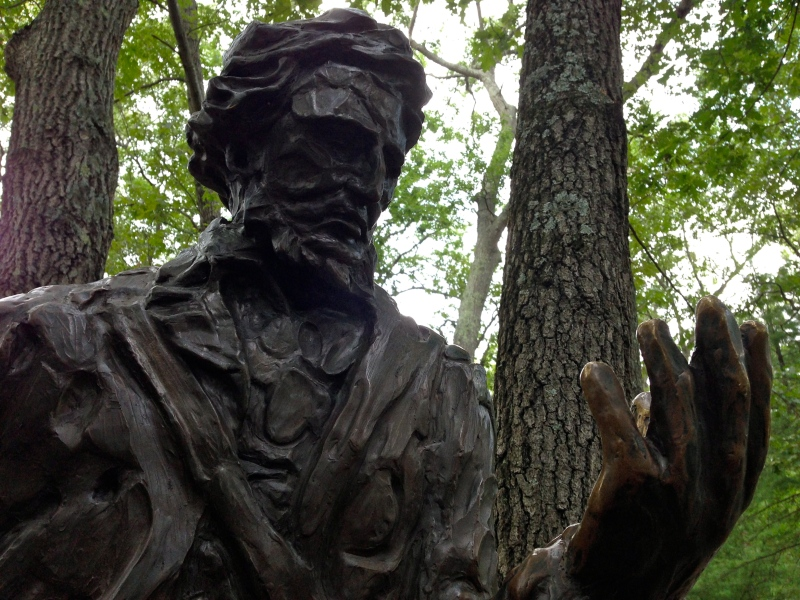 Statue of Henry David Thoreau
