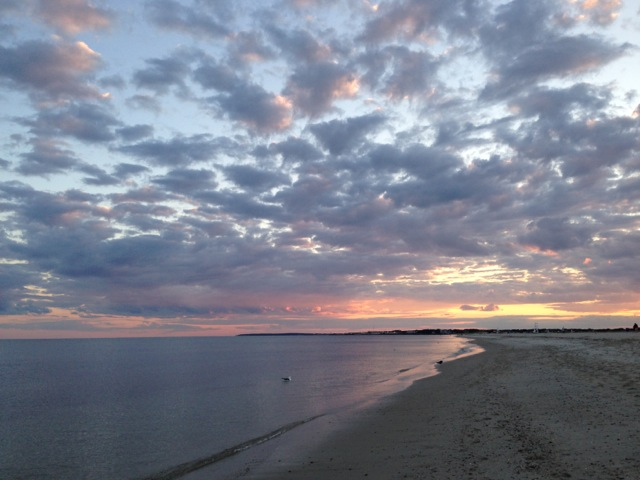 West Dennis Beach sunset
