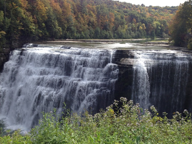 Genesee River Falls, Letchworth State Park, New York