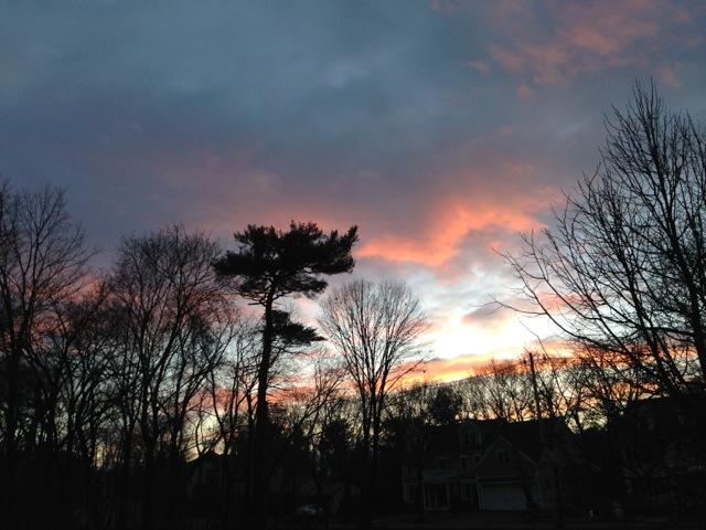 December 2014 Sunset