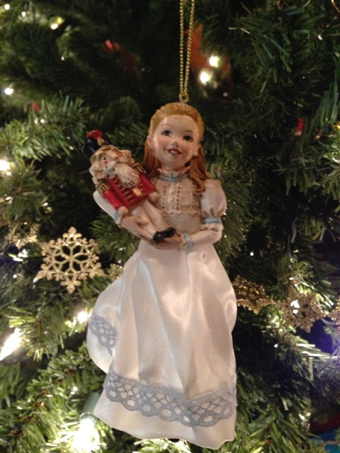 Clara and Nutcracker Ornament
