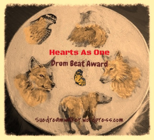 Hearts as one drumbeat