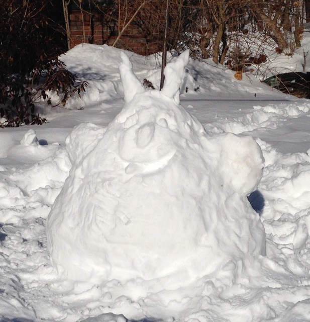 Snow totoro Snowtoro