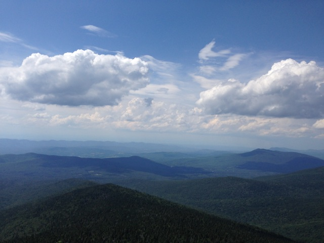 View from Killington Summit
