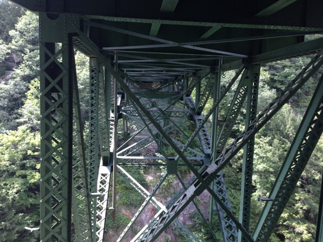 Quechee Gorge Bridge, under