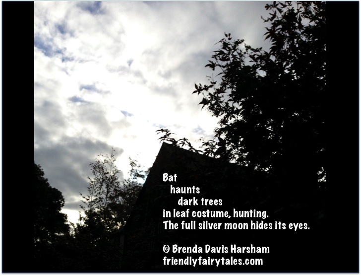 Bat Haunts Trees poem picture
