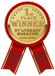 First Place Winner at NY Literary Magazine