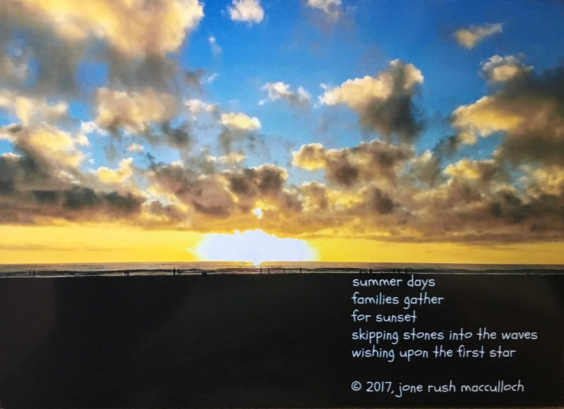 poem by jone rush macculloch on a sunset photo
