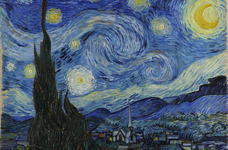 Starry, Starry Night by Vincent van Gogh