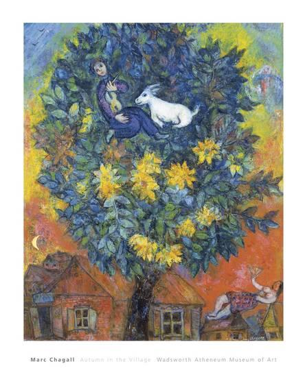 Chagall Autumn in the Village